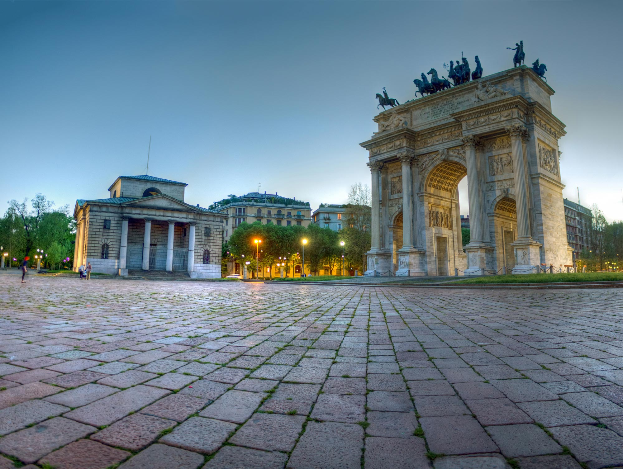 Arco Della Pace on Neoclassical Food