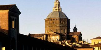 "Pavia - the Ponte Coperto (""covered bridge"")"