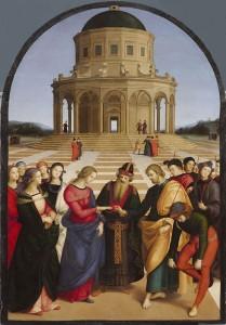 Raffaello - Sposalizio della Vergine
