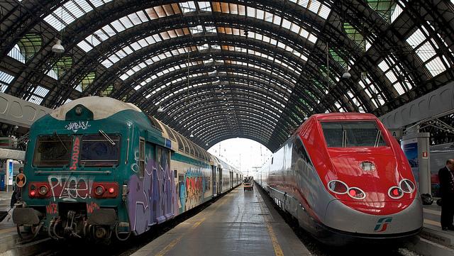 Trenitalia trains