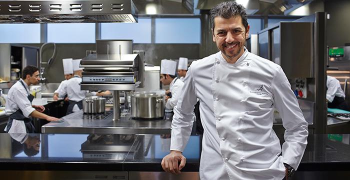 Gourmet innovations at ristorante berton where milan for Ristorante andrea berton