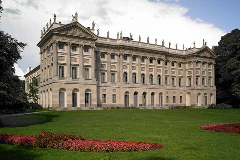 Gam Milan Modern Art Gallery At Villa Reale Where Milan