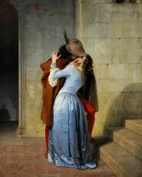 'The Kiss' by Francesco Hayez