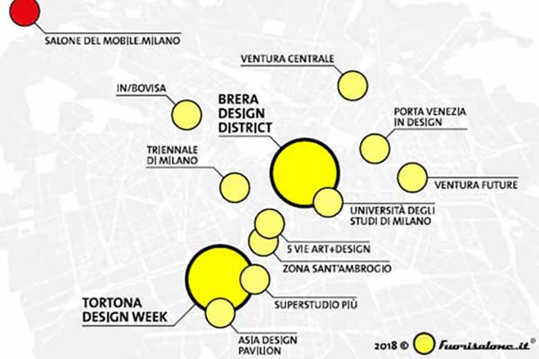 The Design District of Milan Fuorisalone 2018