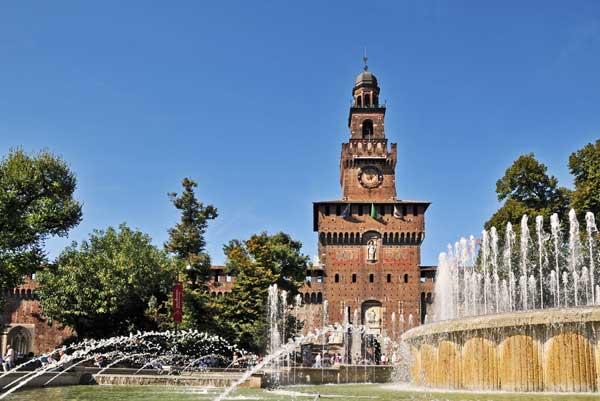 Sforza Castle Attractions in Milan