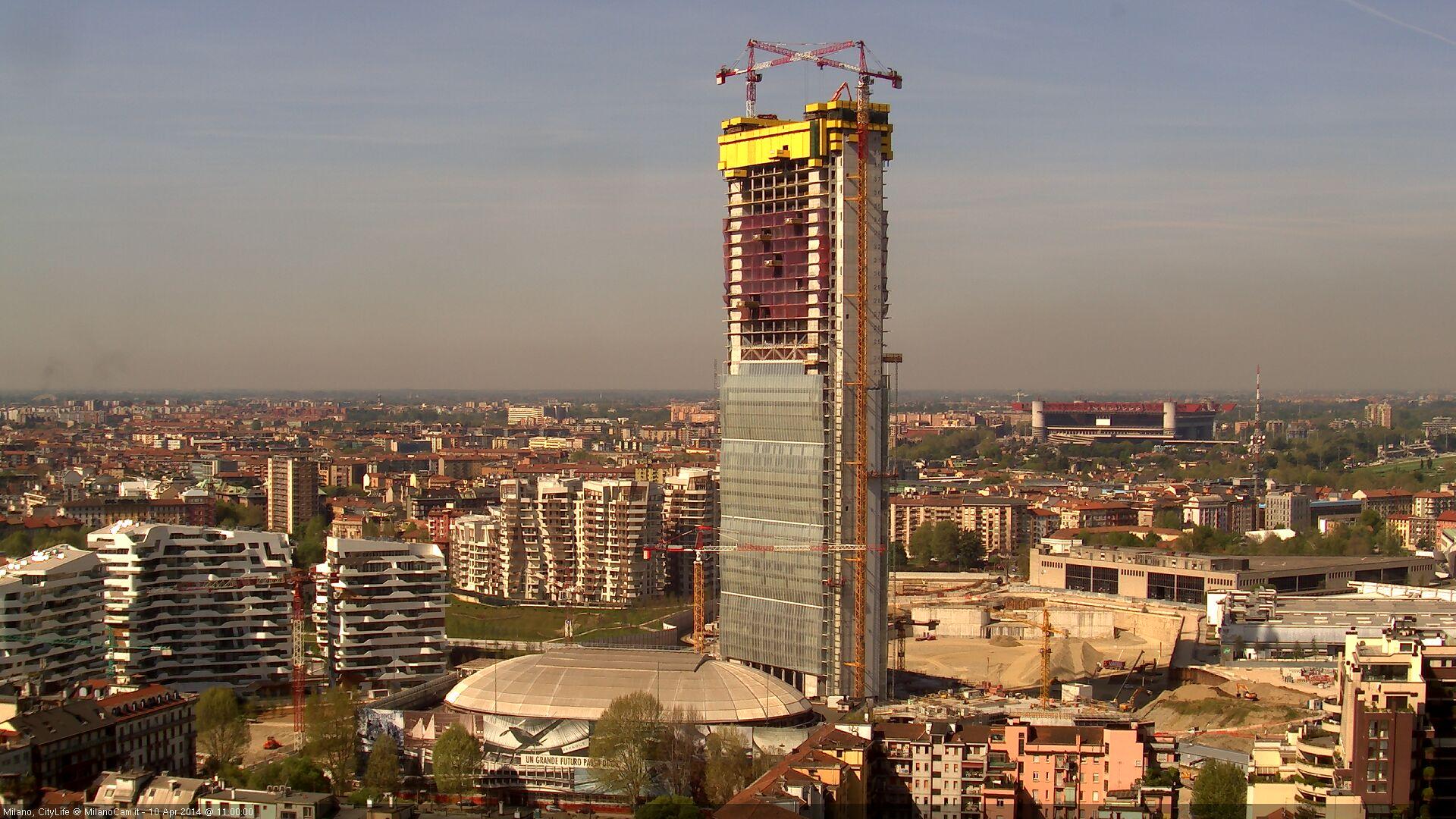 Live Milan Webcam of San Siro Stadium