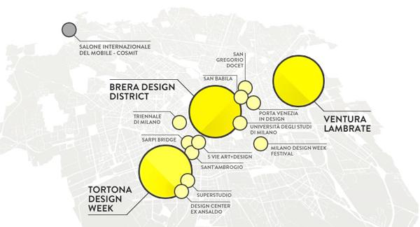 Milan design week 2015 the 39 fuorisalone 39 where milan for Milano design district