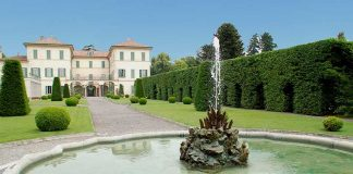 Villa Panza in Varese (less than 60km from Milan)