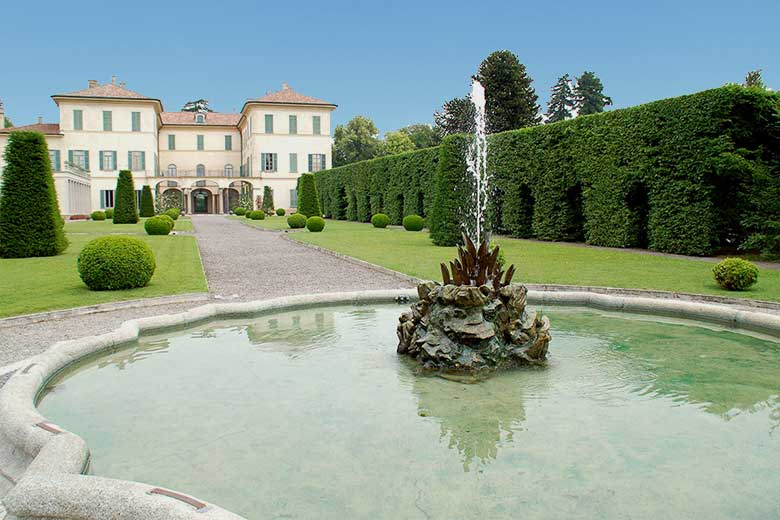 Villa Panza in Varese (less than 60km from Milan)