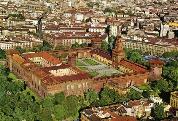 Image result for sforza castle milano