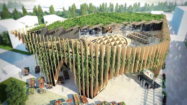 France Pavilion expo 2015