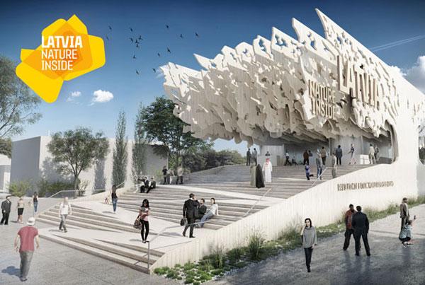 Latvija Pavilion expo 2015