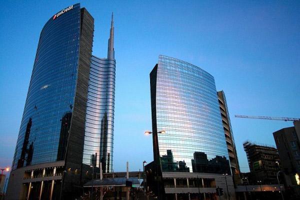 Porta Nuova District Milan Unicredit Tower