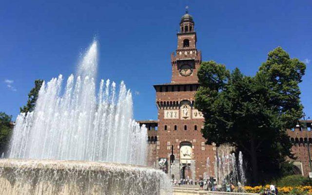 The Sforza Castle, photo credits Giulia Minero - Where Milan