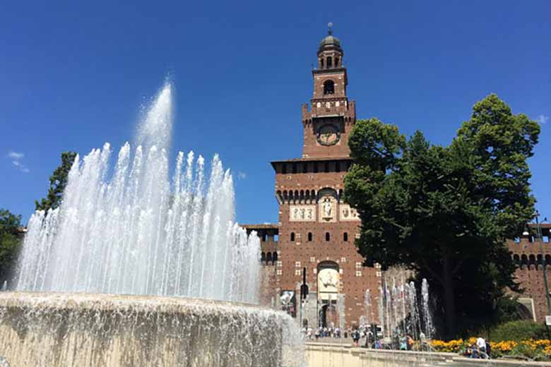 The Sforza Castle, photo credits Giulia Minero - Where Milan