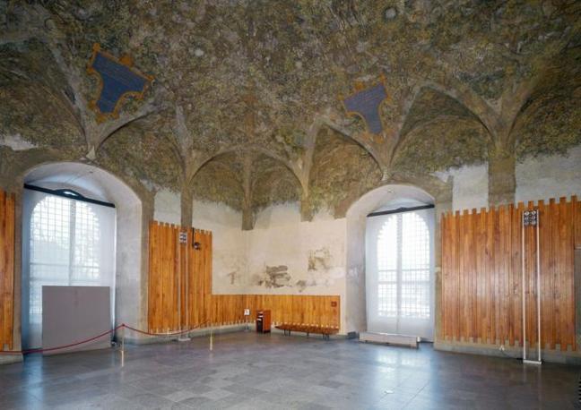 Sala delle Asse at Castello Sforzesco