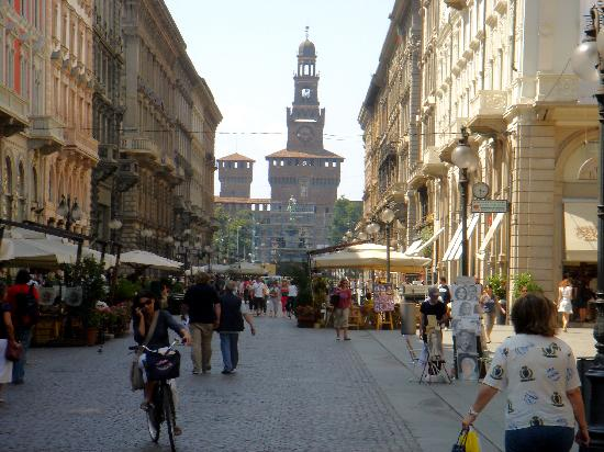 Milano Shopping Districts