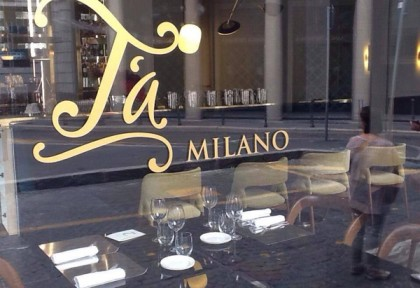 T'A Milano Store&Bistrot