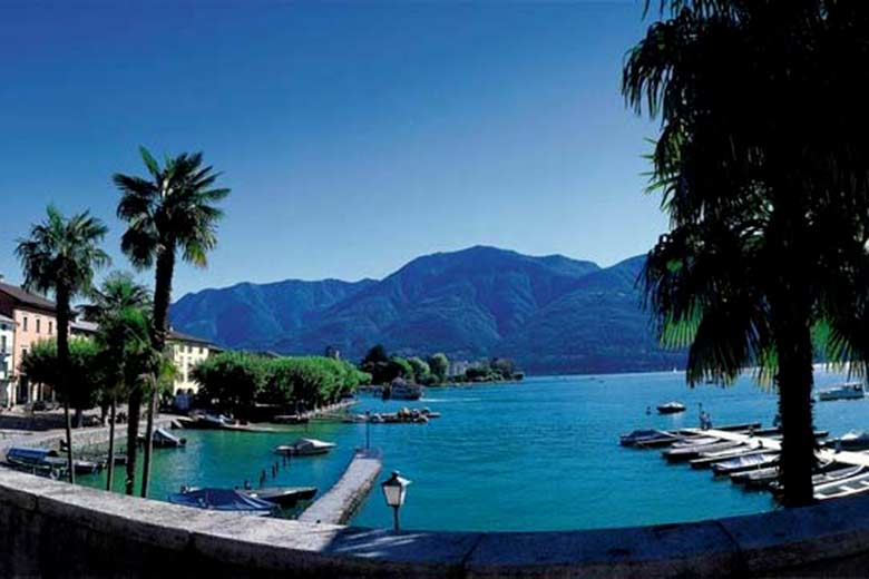 A view of the Canton Ticino