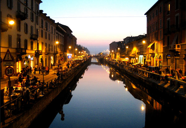 Navigli nightlife
