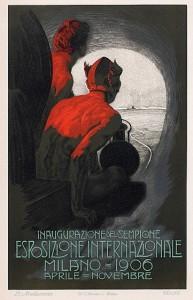 Expo Milano 1906, Poster