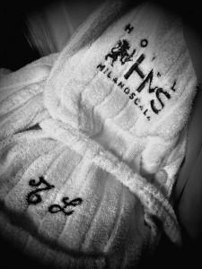 Hotel Milano Scala bathrobe
