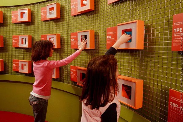Museo scienza e tecnologia, area plastiche e polimeri