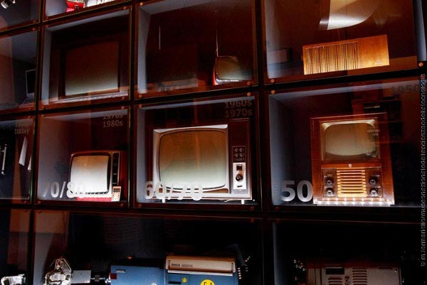 Museo scienza e tecnologia, area telecomunicazioni