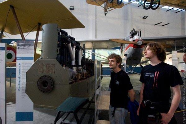 Museo scienza e tecnologia, area trasporti aerei