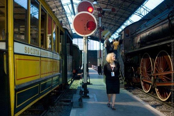 Museo scienza e tecnologia, area trasporti ferroviari