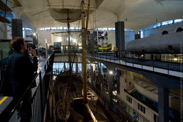 Museo scienza e tecnologia, area trasporti navali