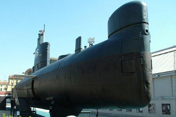 Museo scienza e tecnologia, sottomarino Toti