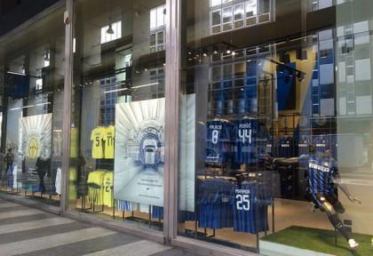 Solo Inter store Milano
