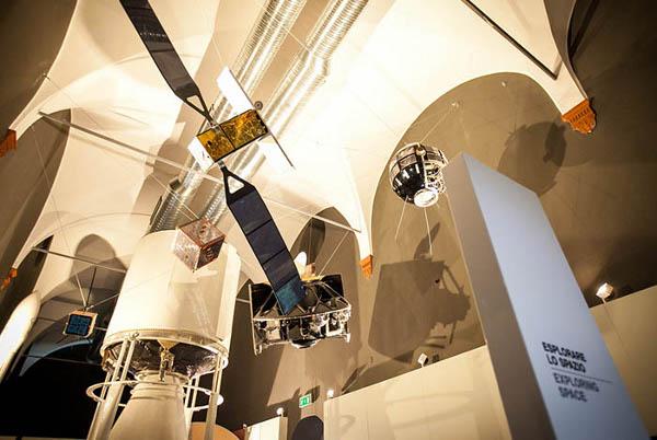 Museo della Scienza e della Tecnologia, area spazio