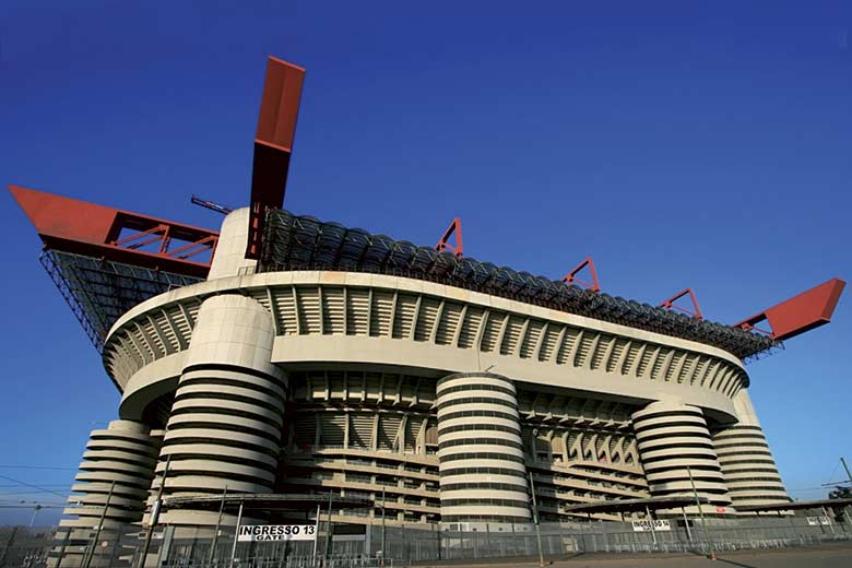 San Siro Stadium the Temple of Football