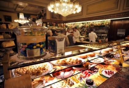 Cova pastry shop Milano