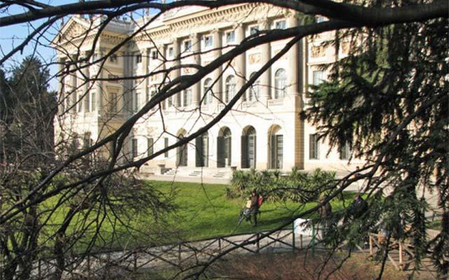 The Garden of Villa Belgiojoso Bonaparte