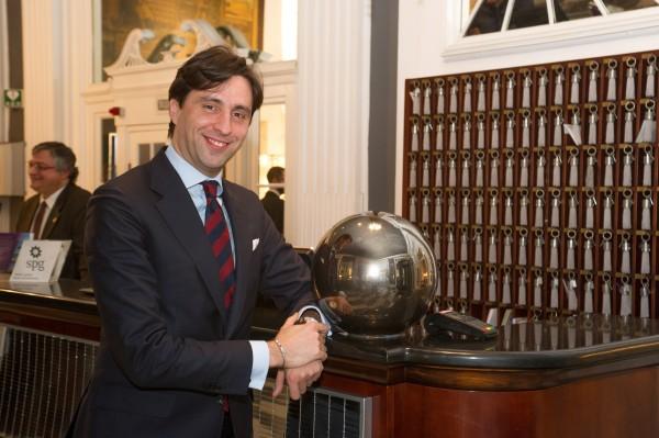 Giovanni Callerino - Manager of Sheraton Diana Majestic