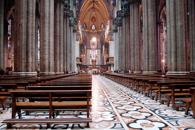 Photo of Milan Dome Interiors, Photo Credits Jakob Montrasio
