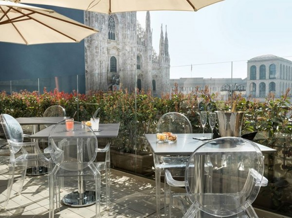 Enjoy the view panoramic restaurants and lounge bars in for Best clubs in milan