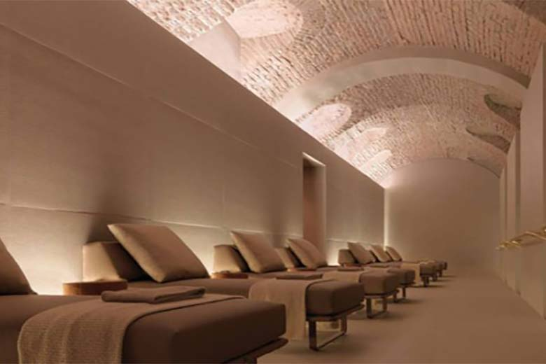 The relax room at Four Seasons Hotel