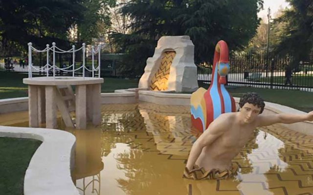 The gardens of Milan's Triennale by Marta Mailhac