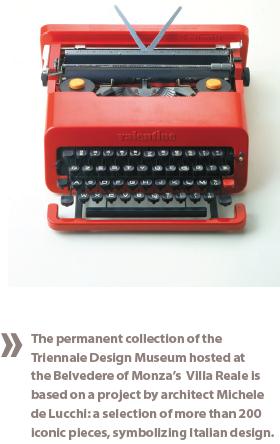 Typewriting Machine at Villa Reale Monza