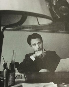 Marco-Pasetti,-today's-Ciccarelli-President,-at-work-in-the-Company-in-a-shot-of-the-Eighties