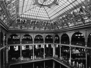 Interior of the First La Rinascente Shop in Milan