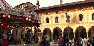 The main square of Vigevano