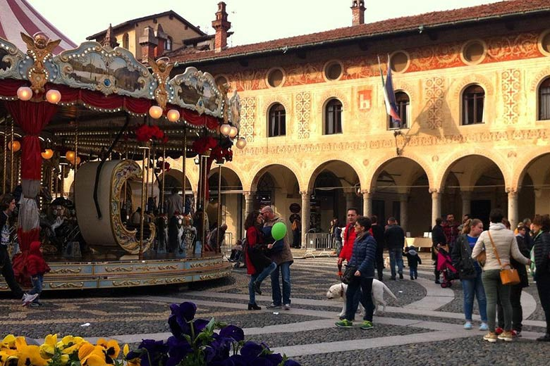 The main square of Vigevano