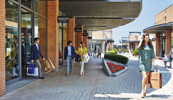 39 sconti pi 39 the summer of vicolungo the style outlets for Milan outlet shopping