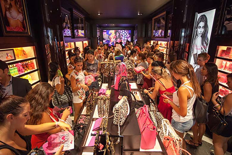 Victoria's Secret Stores in Milan