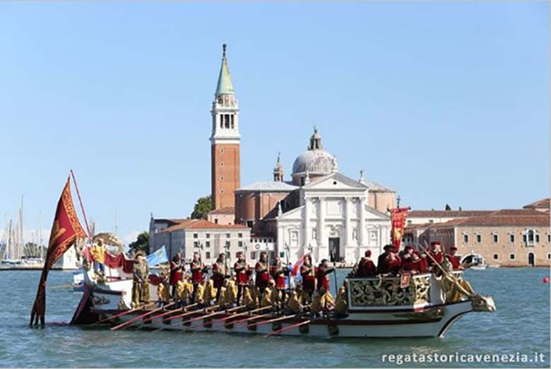 Historical Regatta in Venice, photo credits Regata Storica Venezia
